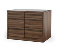 Cassettiera in legno impiallacciatoVIA - DOORWAY