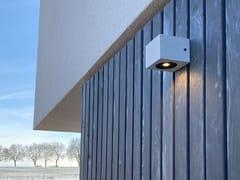 Applique per esterno a LED in Eco-Beton®VIA - GESSO
