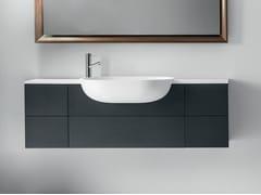 Mobile lavabo sospeso con cassetti VIAVENETO SOFT | Mobile lavabo sospeso - ViaVeneto Soft