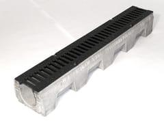 Canale in cemento vibrocompresso VIBRO-BASE 100 - Vibro-Base