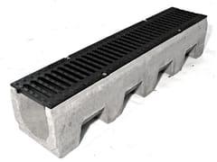 Canale in cemento vibrocompresso VIBRO-BASE 150 - Vibro-Base