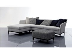 Divano in tessuto con chaise longue VIC   Divano con chaise longue - Vic