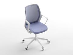 Sedia ufficio operativa con braccioliVICHY - CINQUANTA3
