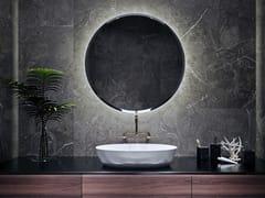 ESS Easy Drain, VICTORIA Specchio rotondo con illuminazione integrata