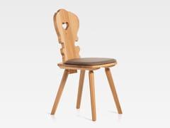 Sedia in legno con cuscino integratoVIENNA   Sedia con cuscino integrato - S.I.P.A.