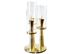 Lampada da tavolo in ottone VIENNA III | Lampada da tavolo - COSMO