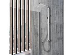 Colonna doccia a parete con doccettaVIENNA - WEISS-STERN
