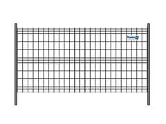Pannello mobile zincato e saldatoPANNELLO MOBILE | 2 Tubi Standard - METALLURGICA IRPINA