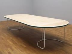 Tavolo ovale in legnoVILLA | Tavolo - TABISSO