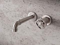 Miscelatore per lavabo a 2 fori a muro VINTAGE | Miscelatore per lavabo a muro - Vintage
