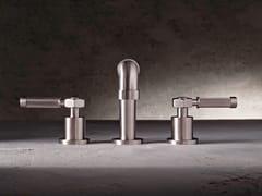 Rubinetto per lavabo a 3 fori da piano VINTAGE | Rubinetto per lavabo a 3 fori - Vintage