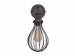 Lampada da parete in metallo con braccio fisso VINTAGE BALLOON CAGE | Lampada da parete - Cage