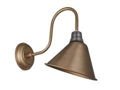 Lampada da parete in ferro VINTAGE CONE SHAPED BARN SWAN NECK - Swan Neck