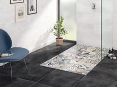 Piatto doccia rettangolare in ceramica VIPRINT – Inspired by Heritage - Subway Infinity