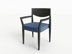 Sedia con braccioli VIRNA | Sedia con braccioli - Virna