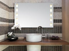 Top Light, VISAGIST Specchio da parete con illuminazione integrata
