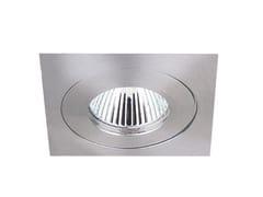 Faretto quadrato in alluminio da incasso VISIO K FIX -