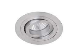 Faretto orientabile in alluminio da incasso VISIO R -