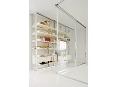 Porta scorrevole in vetroVISTA - ALBED BY DELMONTE