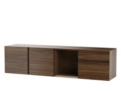 Mobile TV / madia in legno impiallacciatoVITA - DOORWAY