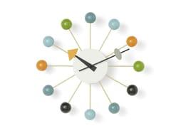 Orologio da pareteVITRA - BALL CLOCK MULTICOLOR - ARCHIPRODUCTS.COM