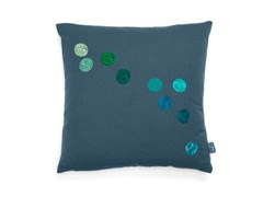 Cuscino quadrato in tessuto VITRA - DOT PILLOW Blue-Grey - ARCHIPRODUCTS.COM