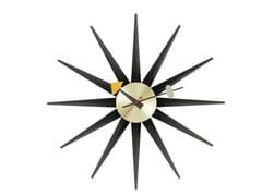 Orologio da pareteVITRA - SUNBURST CLOCK NERO/OTTONE - ARCHIPRODUCTS.COM