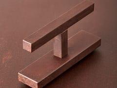 Maniglia / maniglia per finestre in acciaio Corten™VITRUVIO QUADRA - SECCO SISTEMI