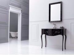 Mobile lavabo in MDF con cassetti e con specchio VIVALDI FLORES 01 - Vivaldi