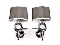 Applique a LED a luce indiretta alogena in metallo in stile modernoVIVERRA - ARREDIORG