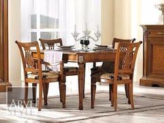 Tavolo allungabile in legno masselloVIVRE LUX | Tavolo quadrato - ARVESTYLE