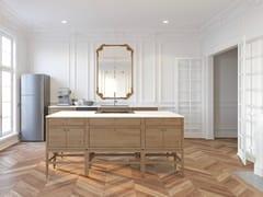 Modulo cucina freestanding in legno masselloVOLITARE | Modulo cucina freestanding in legno - COQUO