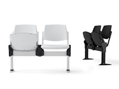 Seduta su barra a pavimento con sedile ribaltabileVOLÉE PLASTIC | Seduta su barra con sedile ribaltabile - DIEMMEBI