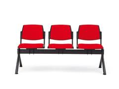 Seduta su barra a pavimento in tessutoVOLÉE SOFT | Seduta su barra - DIEMMEBI