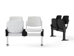 Seduta su barra a pavimento con sedile ribaltabileVOLÉE SOFT | Seduta su barra con sedile ribaltabile - DIEMMEBI