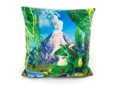 Cuscino quadrato in tessuto VOLCANO | Cuscino - Seletti wears Toiletpaper