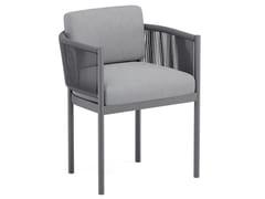 Sedia da giardino in tessuto acrilico con braccioliVOLTE | Sedia con braccioli - JARDINICO