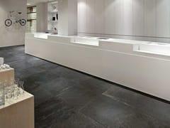 Pavimento/rivestimento in gres porcellanato effetto pietraWALKS/1.0 | Black - FLOOR GRES FLORIM SPA