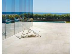 Pavimento/rivestimento in gres porcellanato effetto pietraWALKS/1.0 | White - FLOOR GRES FLORIM SPA