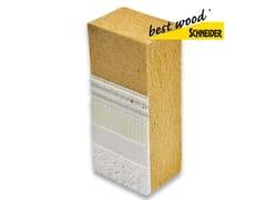 Pannello in fibra di legnoWALL 180 - 3THERM S.R.L.