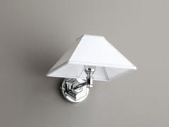BLEU PROVENCE, APPLIQUE A PIRAMIDE Lampada da parete in tessuto per bagno