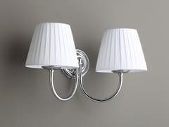 BLEU PROVENCE, APPLIQUE A SOFFIETTO Lampada da parete in tessuto per bagno