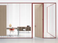 Parete mobile in vetro per ufficioWALL SYSTEM | Parete mobile in vetro - MANERBA