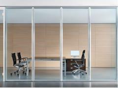 Parete mobile insonorizzata in vetro per ufficioWALLTECH - ESTEL GROUP