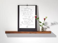 Mensola in noceWALNUT PICTURE LEDGE #02 - WELD & CO