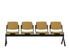 Seduta su barra a pavimento in plasticaWAMPA | Seduta su barra - IBEBI
