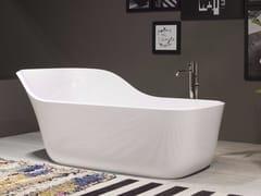 Antonio Lupi Design, WANDA Vasca da bagno centro stanza in Ceramilux®