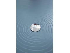 Piatto doccia rettangolare in ceramica in stile moderno WATER DROP 80 X 140 | Piatto doccia in ceramica - Water Drop