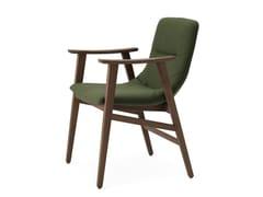 Sedia imbottita con braccioliWAVE | Sedia con braccioli - BLIFASE