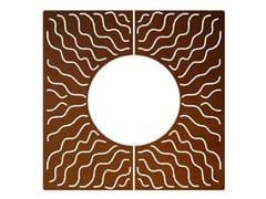 TrackDesign, WAVE Griglia per alberi in acciaio Corten™
